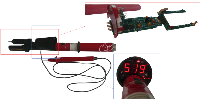 Указатель величины тока и напряжения УТН-1000
