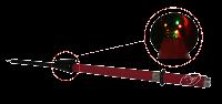 УВНФ-110СЗ 110кВ Фазоуказатель однополюсной высокого напряжения Купить с доставкой до объекта по России и СНГ. Низкие цены. Всегда в срок