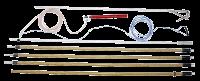 ПЗ-1150Н 25мм,35мм,50мм,70мм,95мм,120мм Заземление переносное для ВЛ Купить с доставкой до объекта по России и СНГ. Низкие цены. Всегда в срок