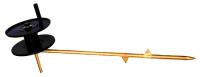 Электрод заземляющий для переносных заземлений ВЛ 0,4-10 кВ ЭЗ-1Н для установки в грунт в качестве переносного временного заземлителя