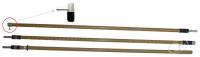 ШО-15-3-5.1 Штанга изолирующая оперативная 15кВ Купить с доставкой до объекта по России и СНГ. Низкие цены. Всегда в срок
