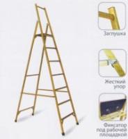 Диэлектрические стеклопластиковые лестницы и стремянки