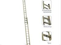 Лестницы стеклопластиковые диэлектрические приставные раздвижные и составные ЛСПР (Россия)