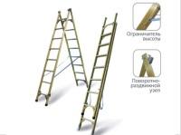 Лестницы стеклопластиковые двухсторонние универсальные ЛСД-У