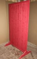 Щит ограждение деревянное диэлектрическое 1700х1000х600.