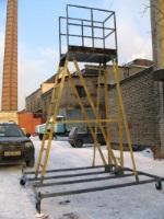 Вышка тура диэлектрическая стеклопластиковая с ограждением ССВ-В (Россия)